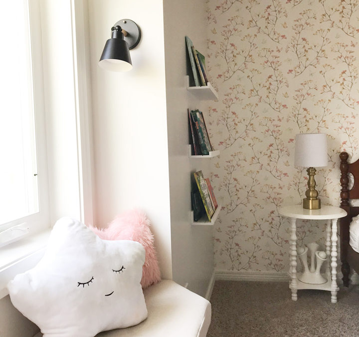 ONE ROOM CHALLENGE – WEEK SIX: BIG GIRL ROOM MAKEOVER, THE WINDOW SEAT