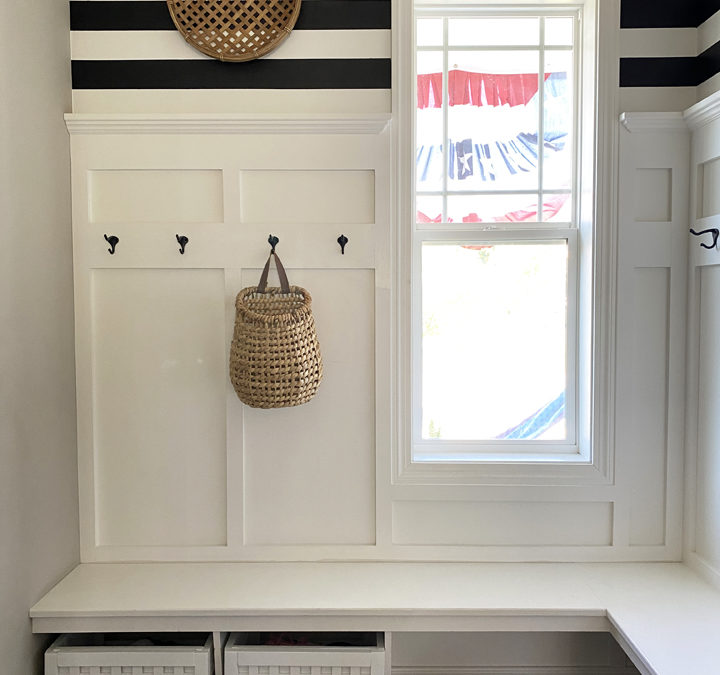 How to Create Mudroom Shoe Storage Bins with Style